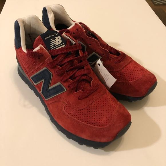New Balance Us574xad Usa Red Men Size8